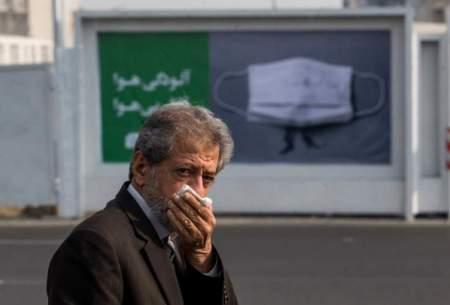 هوای پایتخت برای گروههای حساس آلوده شد