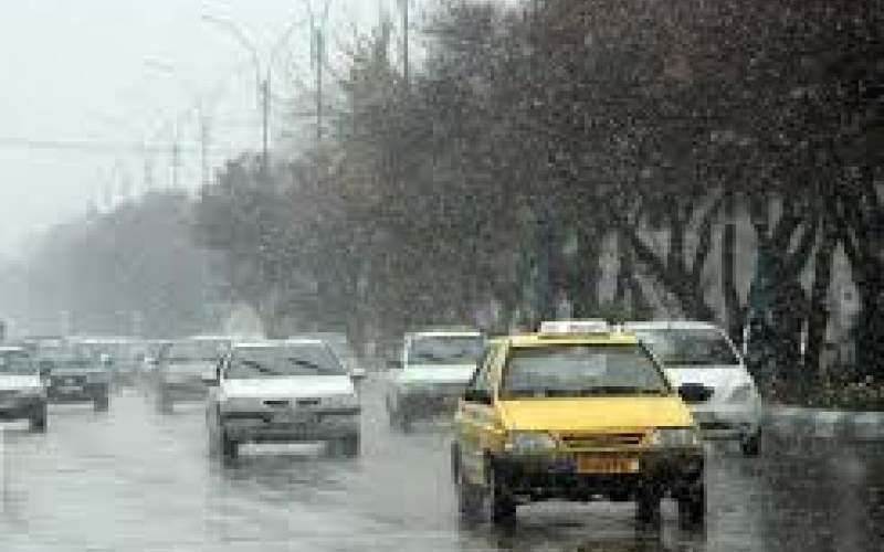بارش باران و برف در بیشتر مناطق کشور