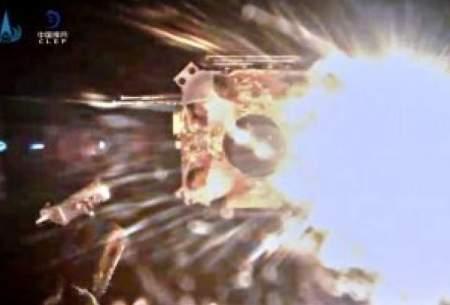 کاوشگر چینی سطح ماه را ترک کرد