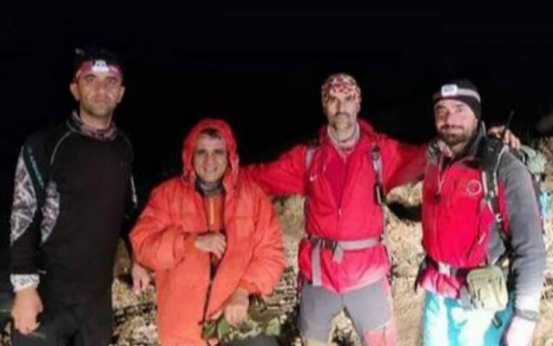 نجات ۲ کوهنورد گرفتار در ارتفاعات گرگان