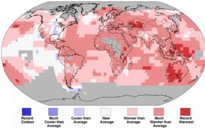 ثبت رکورد دیگری از گرمای زمین در ۲۰۲۰