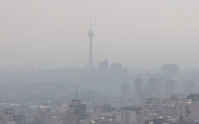 هوای پایتخت برای پنجمین روز پیاپی آلوده شد