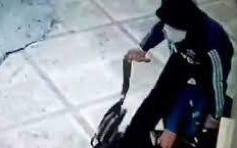 ویدئویی تکاندهنده از یک زورگیری در تهرانپارس