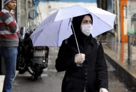 در روزهای بارانی چگونه از ماسک استفاده کنیم