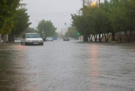 جاریشدن سیلاب در استان بوشهر