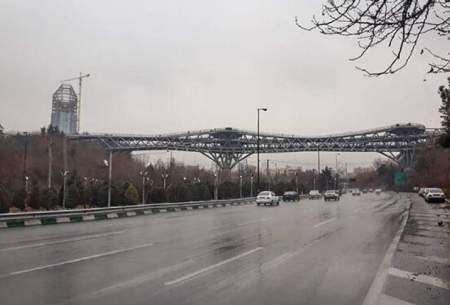 تداوم هوای سالم در تهران بارانی