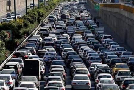 کدام معابر تهران اسیر ترافیک سنگین است