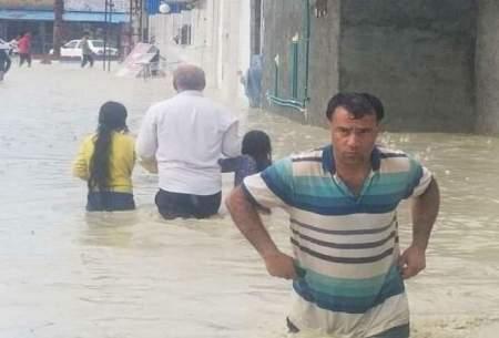 سیلاب در سیریک جان یک نفر را گرفت