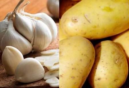 باید و نبایدهای مصرف سیر و سیب زمینی
