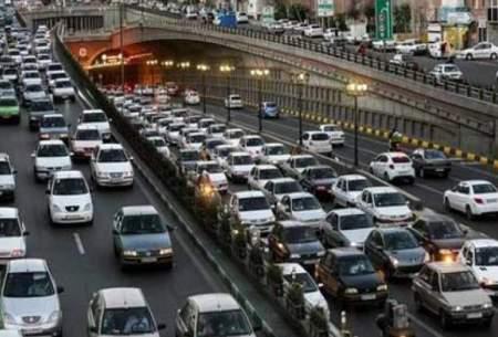 آخرین وضعیت ترافیکی معابر تهران
