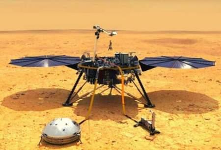 دستیابی مریخ نورد اینسایت به کیک مریخ
