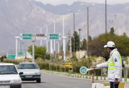 ترافیک در برخی جادههای منتهی به پایتخت