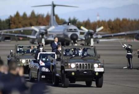 افزایش هزینه نظامی ژاپن برای نهمین بار