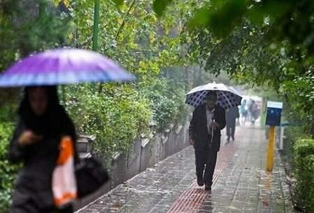 سامانه بارشی در آسمان ۱۸ استان فعال شد