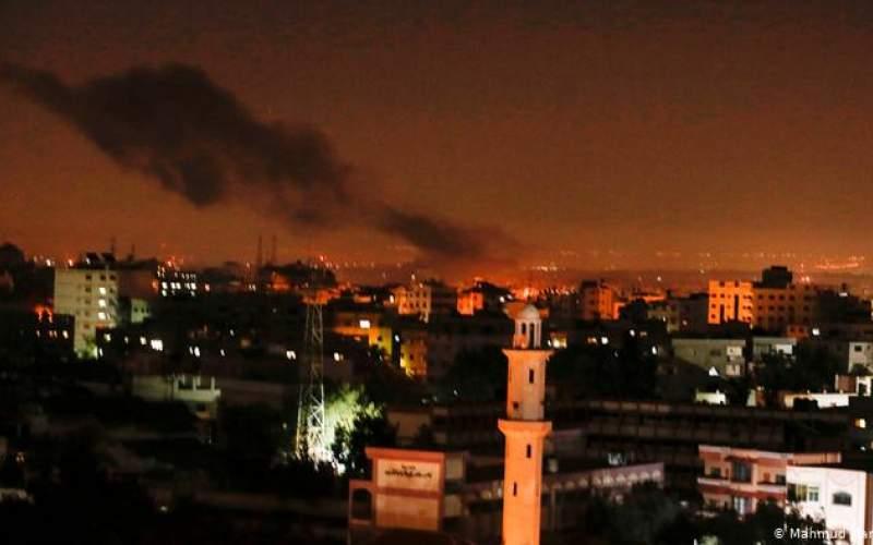 حمله  اسرائیل به غزه در پاسخ به حماس
