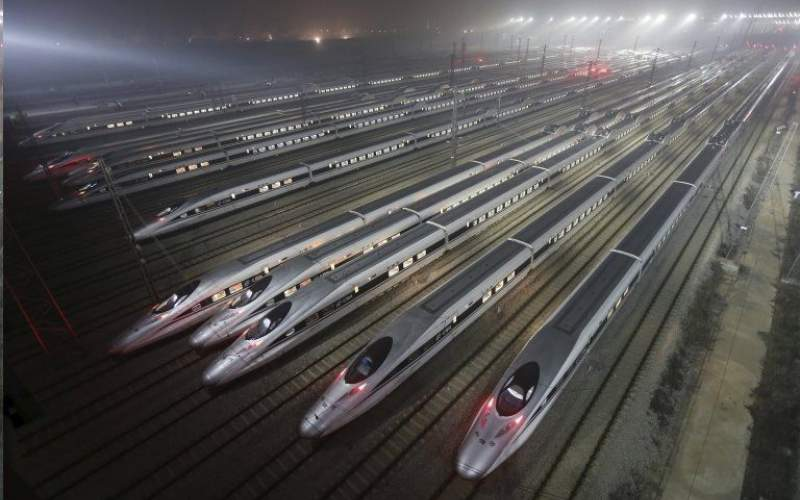 جدیدترین قطار چین با  ۳۵۰ کیلومتر سرعت