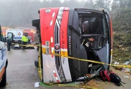 کشته شدن۳۷تن درتصادف اتوبوس در کامرون