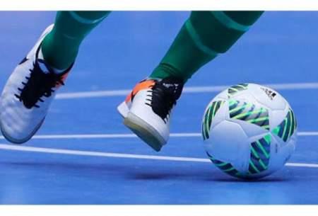 تساوی سن ایچ و فرش آرا در هفته سوم لیگ برتر فوتسال