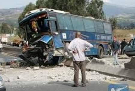 وقوع تصادف جاده ای در جنوب الجزایر