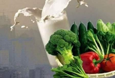 بهترین و بدترین غذاها د هوای آلوده/اینفوگرافیک