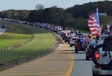 کاروانهای طرفداران دونالد ترامپ برای اجتماع بزرگ روز چهارشنبه به سمت واشنگتن راه افتادهاند