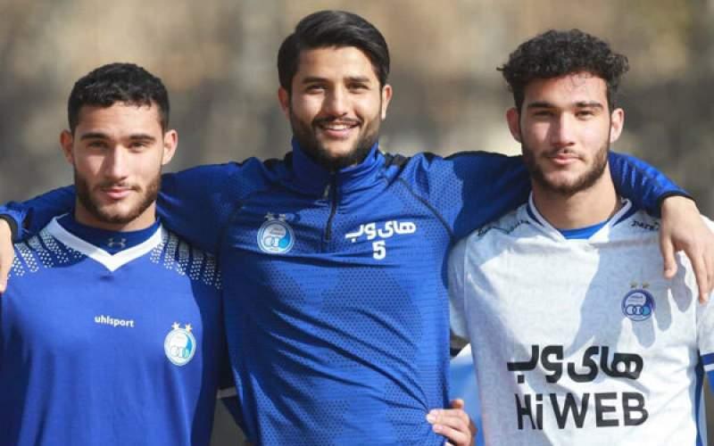 معرفی دوقلوهای جدید فوتبال ایران در استقلال