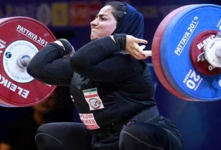 قویترین زنان ایران در آوردگاه جهانی