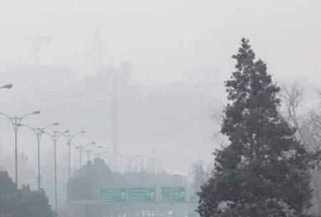کیفیت هوای تهران در ۴ ایستگاه سنجش قرمز شد