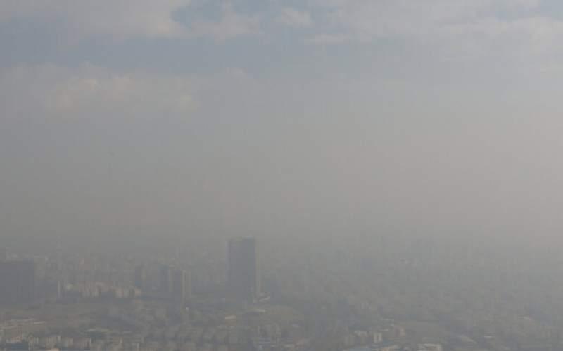 کیفیت هوای تهران در وضعیت بسیار ناسالم