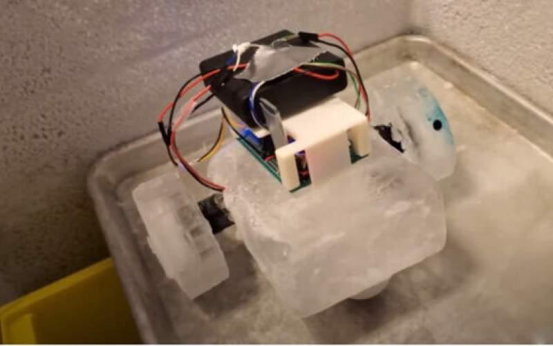 ربات یخی به فضا ارسال می شود