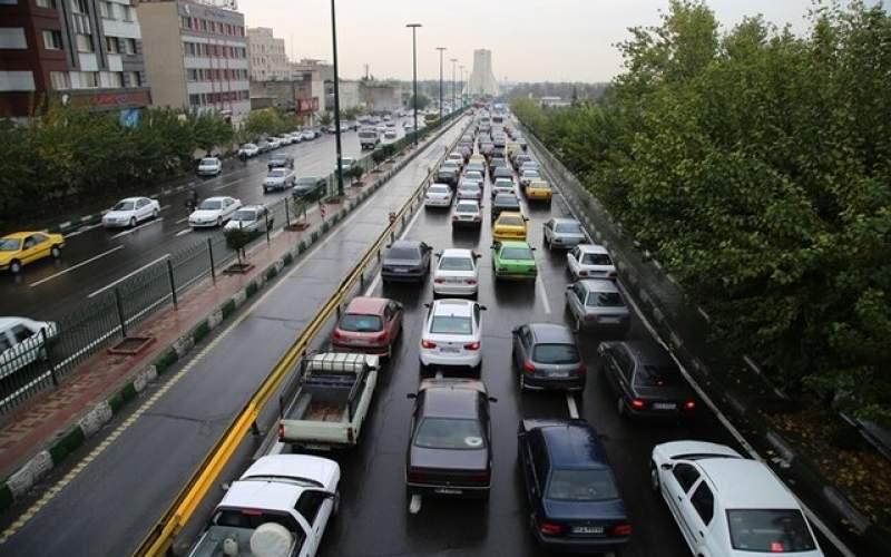 ترافیک سنگین در محدوده ورودی پایتخت