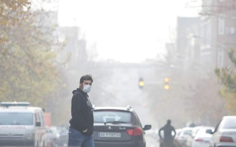 تشدید آلودگی هوای پایتخت طی امروز