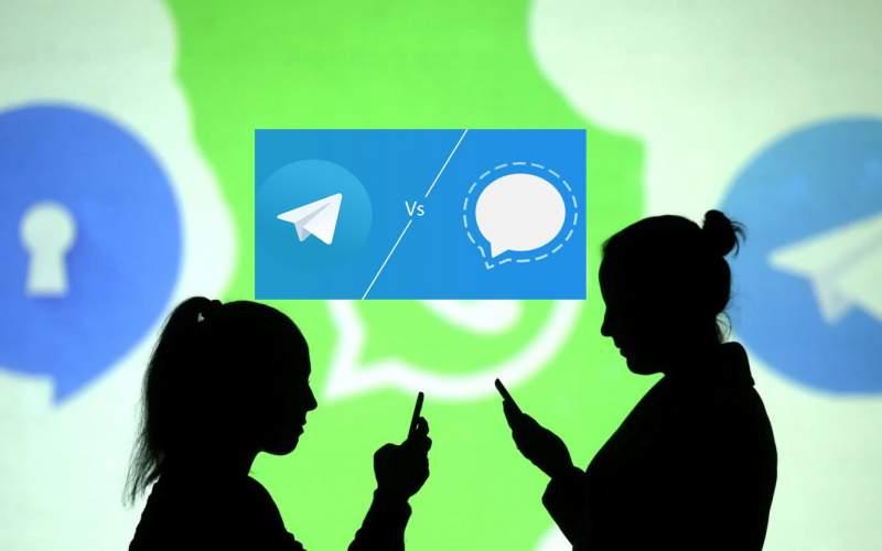 احتمال حذف «تلگرام» و «سیگنال» توسط کارتل رسانهای جهان!