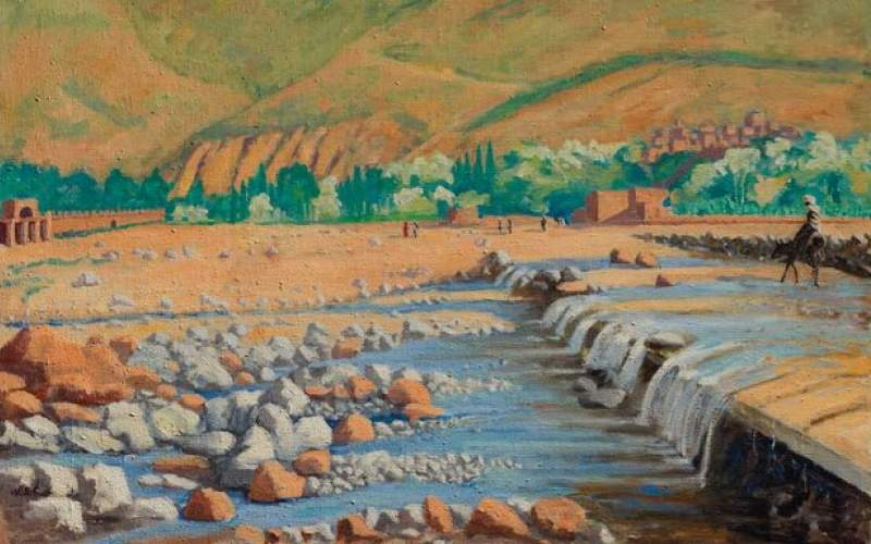 نقاشی «چرچیل» فروخته میشود