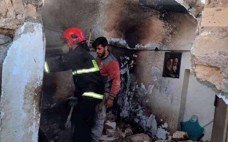 انفجار منزل مسکونی دو مصدوم برجای گذاشت