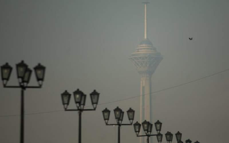 کیفیت هوا در همه نقاط تهران قرمز شد