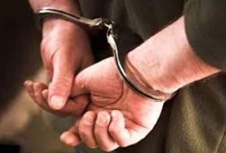 توزیعکننده مسلح قرص روانگردان دستگیر شد