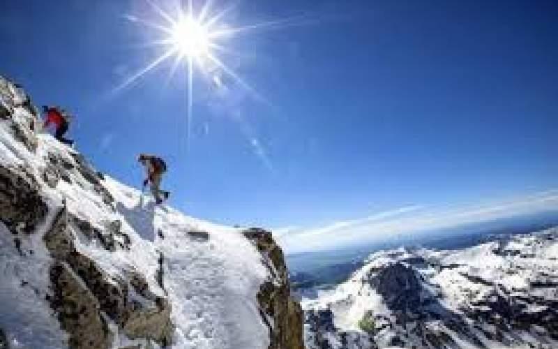 احتمال وقوع بهمن در ارتفاعات تهران در آخر هفته