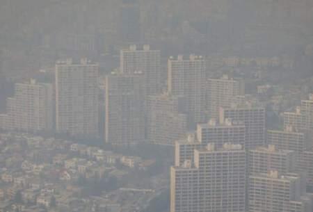 تهرانیها دیروز آلودهترین هوا را تنفس کردند