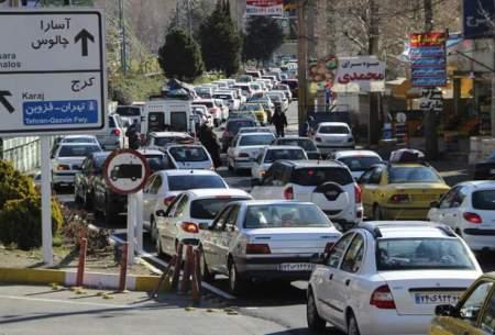 افزایش ۴.۵ درصدی تردد در جادهها