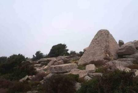 کشف مقبره هرمی تاریخی در لبنان