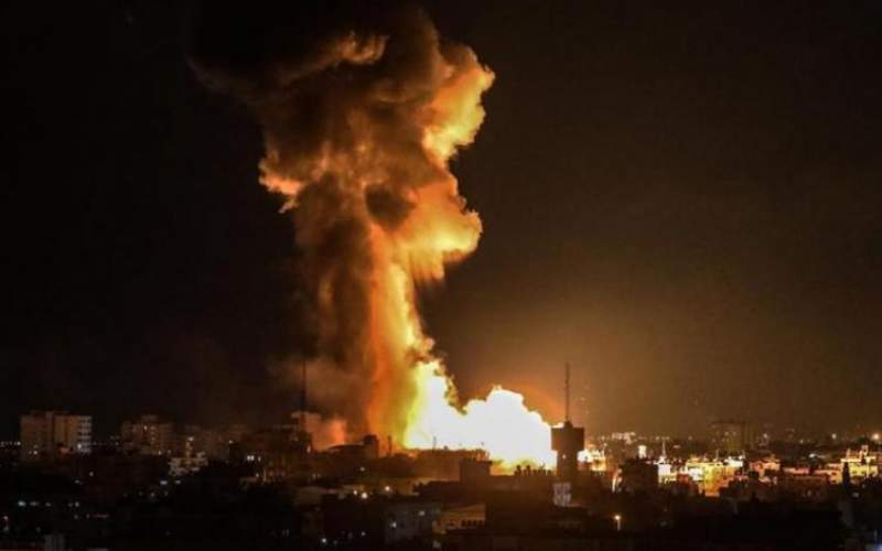حمله هوایی اسرائیل به سوریه با دهها کشته