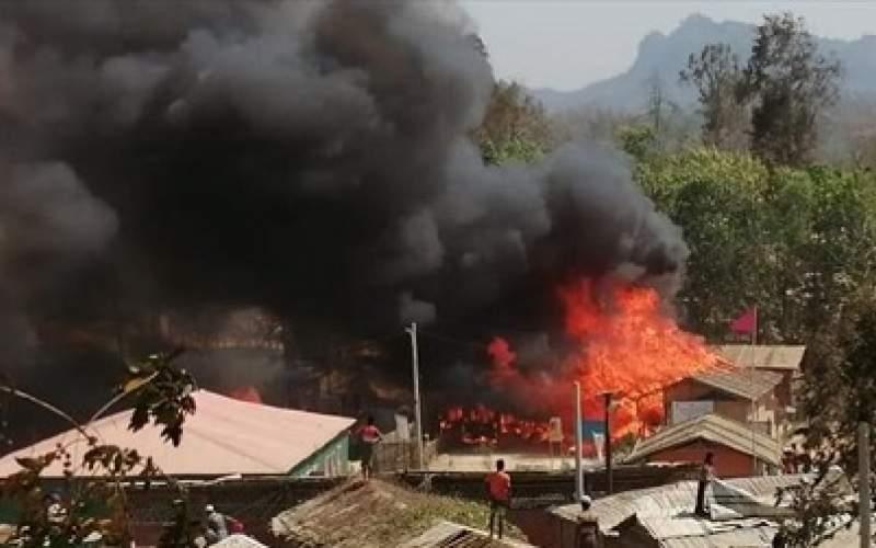 مسلمانان روهینگیا آوارهتر شدند