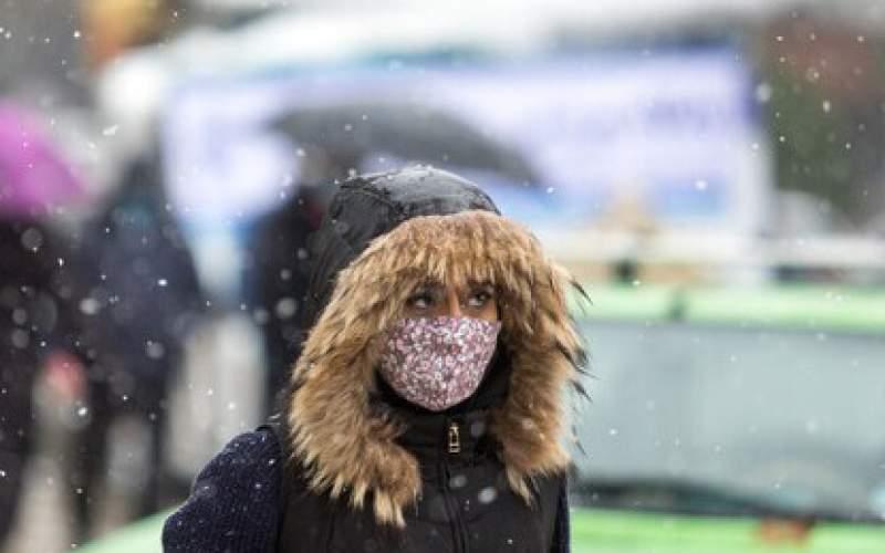 بارش برف و باران چهار روزه در ۱۲استان کشور