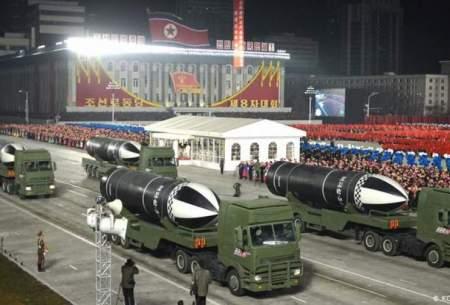 نمایش نیرومندترین موشک جهان در کره شمالی