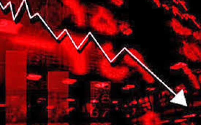 سقوط شاخص بورس همچنان ادامه دارد
