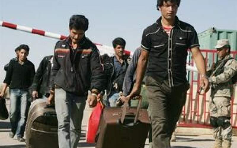 خروج ۸۵۰هزار مهاجر افغان از ایران
