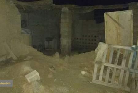 تصاویری از خسارت زلزله در هرمزگان