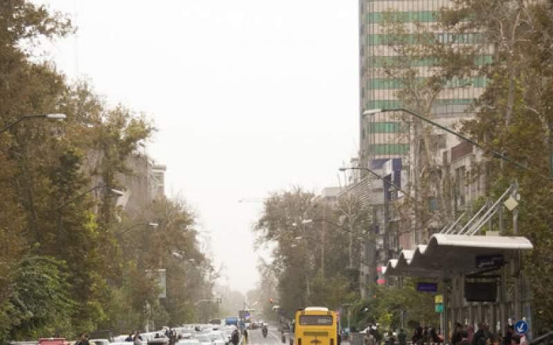 هوای تهران برای حساسها ناسالم شد