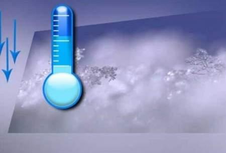 کاهش ۸ تا ۲۰درجهای دمای هوا دربرخی مناطق